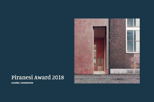 "Ausstellung ""Piranesi Award 2018"""