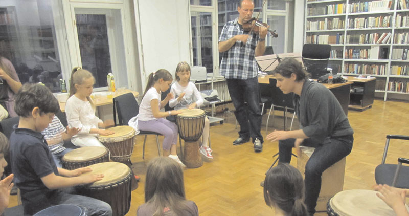 MOZART – TROMMEL – WORKSHOP