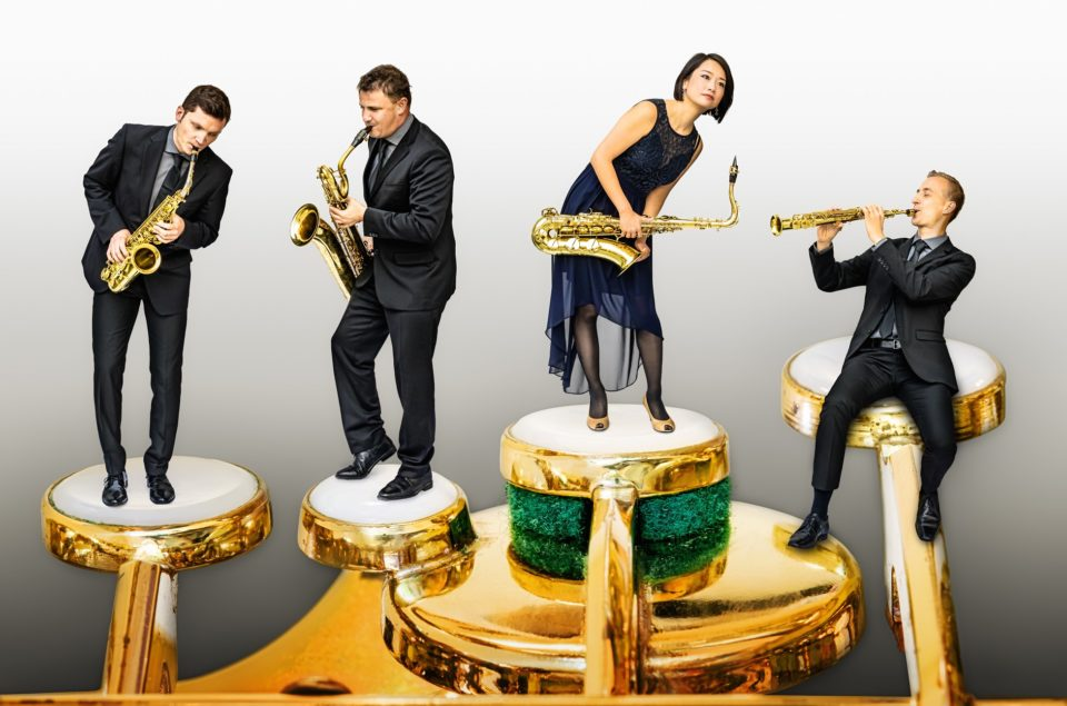 Jaska Art Festival: Mobilis Saxophonquartett