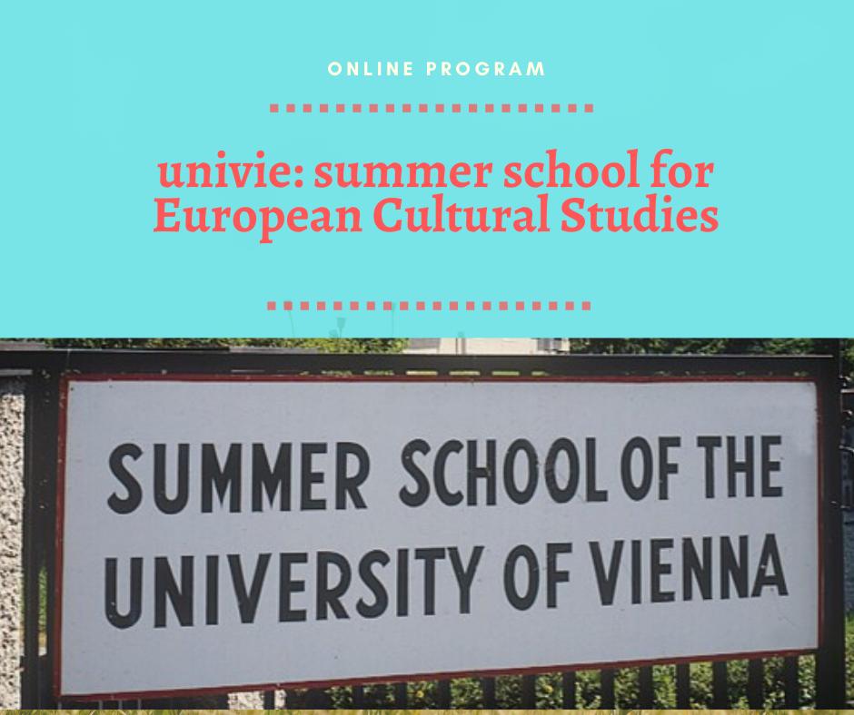univie: summer school for European Cultural Studies